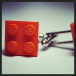 lego orange tile